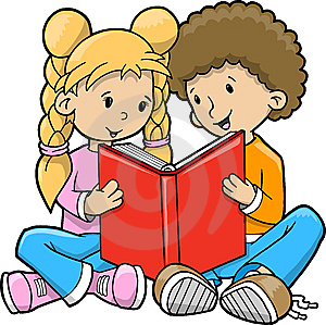 vector-del-libro-de-lectura-de-los-ni-ntildeos-thumb9723876