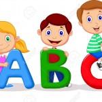 23826167-Children-cartoon-with-ABC-alphabet--Stock-Vector