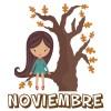 Efemérides, actividades, imágenes y dibujos para colorear del mes de noviembre