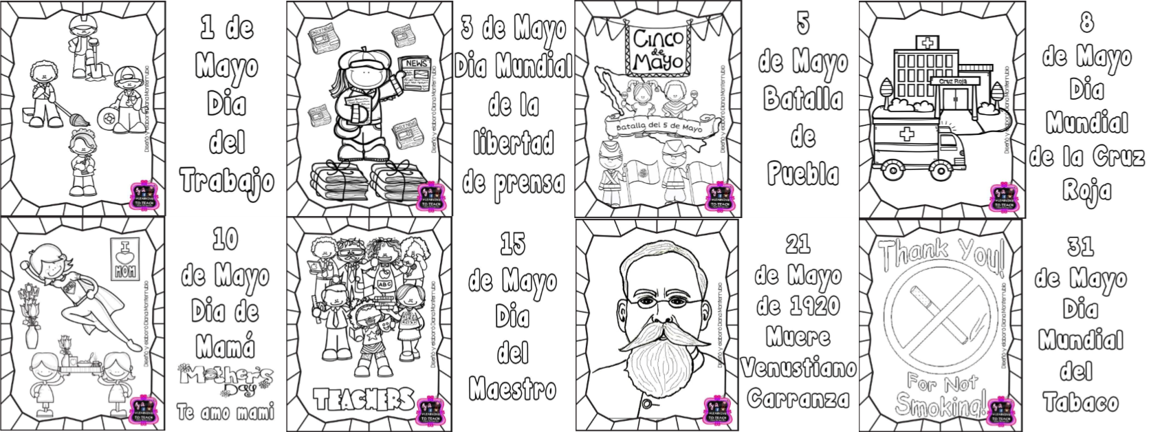 Bonito Cinco De Mayo Para Colorear Imagen - Dibujos Para Colorear En ...