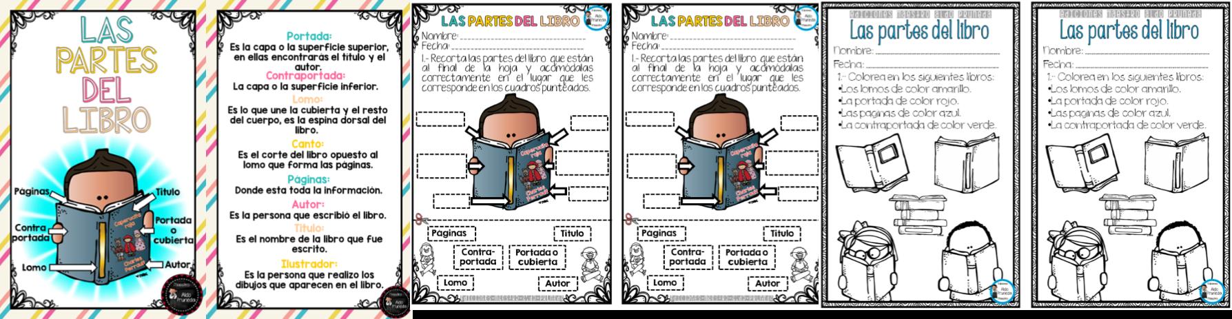 Moderno Libros De Colores Para Preescolares Galería - Dibujos Para ...