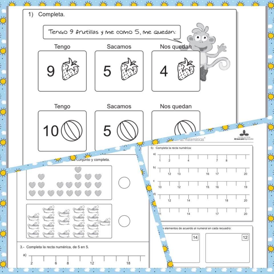 Actividades de matemáticas para primer grado | Material Didáctico y ...