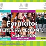 Formatos de los productos de la tercera sesión del consejo técnico escolar 2016 – 2017 Preescolar, primaria y secundaria