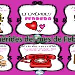 Efemérides del mes de Febrero