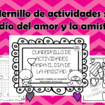 Cuadernillo de actividades sobre el día del amor y la amistad