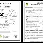 Material de apoyo del segundo grado del quinto bloque ciclo escolar 2016 – 2017