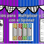 Ejercicios para  Multiplicar y Dividir con el Spinner