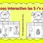 Fabuloso interactivo las 5 r's o 3 r's