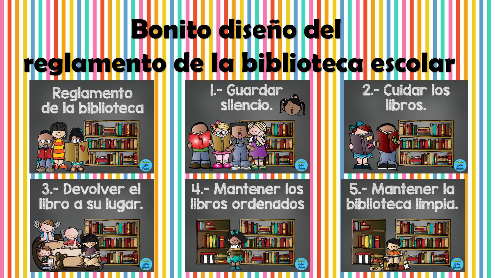 biblioteca escolar | Material Didáctico y Planeaciones