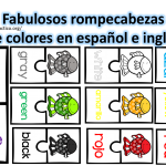 Fabulosos rompecabezas de colores en español e ingles