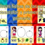 Fabulosas fichas de las vocales para preescolar y primer grado de primaria