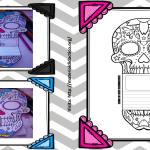 Excelente calavera interactiva para el día de muertos