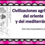 Excelente interactivo del las civilizaciones agrícolas del oriente y del mediterráneo