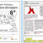 Material didáctico de apoyo para el segundo bloque del ciclo escolar 2017 – 2018 – SEXTO GRADO