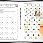 Fabuloso juego para aprender las tablas de multiplicar