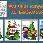 Excelentes rompecabezas con motivos navideños