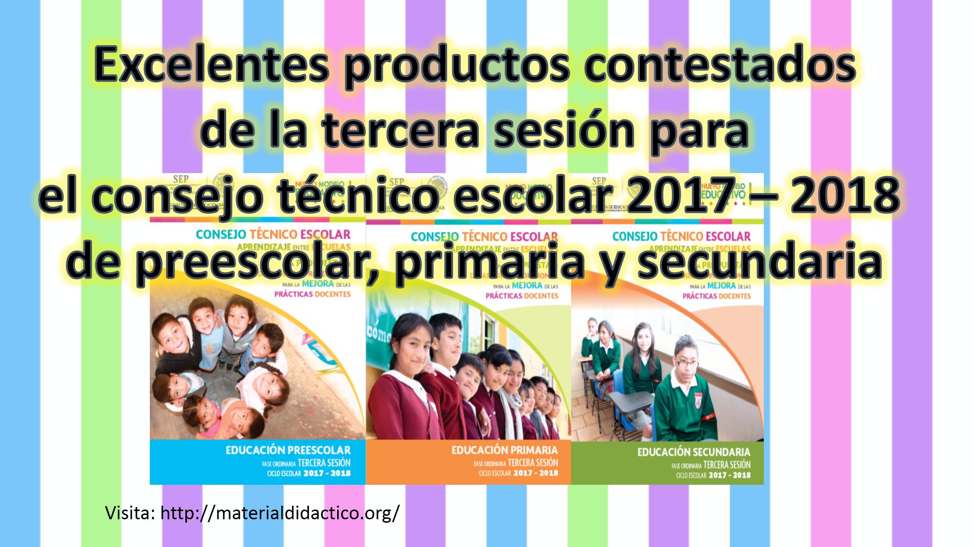 De consejo escolar productos 2020 sesion octava contestados tecnico
