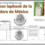 Fabuloso lapbook de la bandera de México