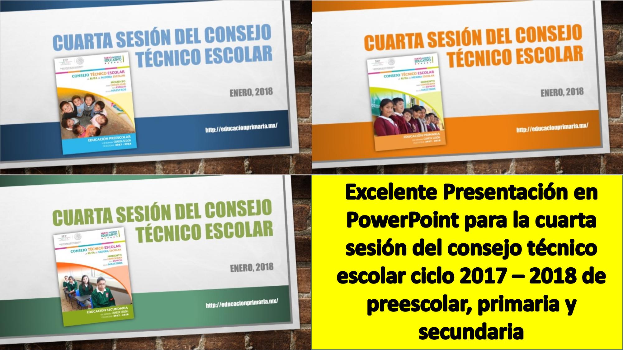 Excelente Presentación en PowerPoint para la cuarta sesión del ...