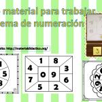 Fabuloso material para trabajar el sistema de numeración