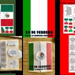 Fabuloso lapbook para el día de la bandera de México