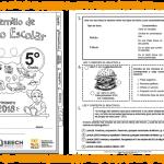 Fabuloso cuadernillo de repaso escolar del quinto grado de primaria – Primavera 2018