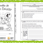 Fabuloso cuadernillo de repaso escolar del cuarto grado de primaria – Primavera 2018