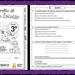 Fabuloso cuadernillo de repaso escolar del tercer grado de primaria – Primavera 2018
