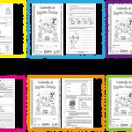Excelentes cuadernillos de repaso escolar de todos los grados de primaria – Primavera 2018