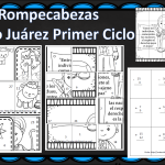 Fabulosos rompecabezas de sumas y  restas sobre Benito Juárez – Primer Ciclo