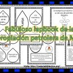 Fabuloso lapbook de la expropiación petrolera de México