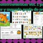 Monstruomáticas Vol. 1 para primer y segundo grado de primaria
