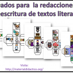 Fabulosos dados para  la redacciones o reescritura de textos literarios