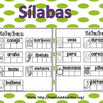 Excelentes actividades de sílabas para primer y segundo grado de primaria