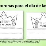 Bonitas coronas para el día de las madres
