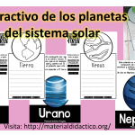Excelente material interactivo e información de los planetas del sistema solar