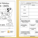 Excelente material didáctico para quinto grado del quinto bloque mayo y junio 2017 – 2018