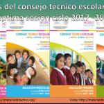 Guías del consejo técnico escolar de la séptima sesión ciclo 2017 -2018 de inicial, preescolar, primaria y secundaria