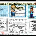 Diplomas e invitaciones para el día del padre
