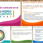 La autonomía curricular en el nuevo modelo educativo