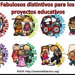 Fabulosos distintivos para los proyectos educativos