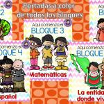 Fabulosas portadas a color de todos los bloques