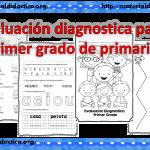 Fabulosa evaluación diagnostica para primer grado de primaria
