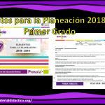 Elementos para la Planeación 2018-2019 Primer Grado