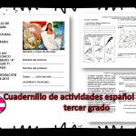 Cuadernillo de actividades español lecturas tercer grado