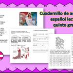 Cuadernillo de actividades español lecturas quinto grado