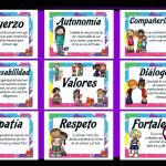 Fabulosos diseños para conocer y aprender los valores