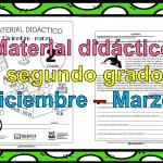 Excelente material didáctico del segundo grado para el segundo trimestre del ciclo escolar 2018 – 2019