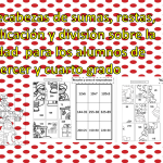Rompecabezas de sumas, restas, multiplicación y división sobre la navidad para los alumnos de tercer y cuarto grado