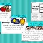 Excelentes diseños y actividades de los sustantivos